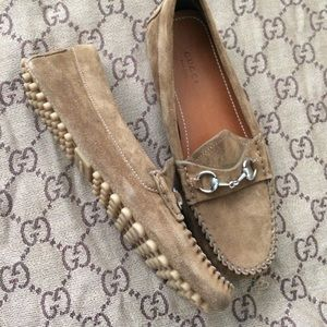 Auth Gucci Loafers Size 37